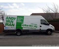 House Removals and single item collection by ANDY VAN MAN