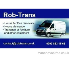 Man and van for hire Manchester, Sale, Altrincham, Partington, Irlam, Flixton, Urmston