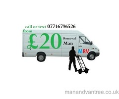 Man with a van Mr red van Removals value quality Service