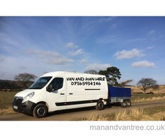 Van and man hire Aberdeenshire Removals Light haulage