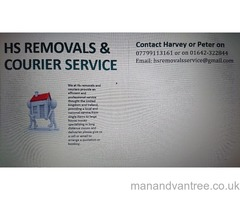 Removals and courier service  Marton-in-Cleveland, North Yorkshire