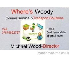 Where's Woody Courier Service and Transport Solutions Heswall, Merseyside