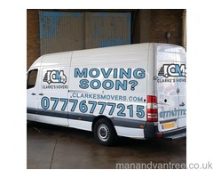 Man and Van from £25 p/h Removal Services Same Day Deliveries Van Hire Hackney Islington