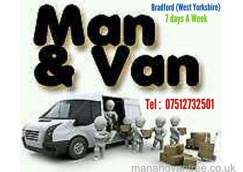 Bradford Man And Van Removal Service From £15, Call Or Text 07512732501