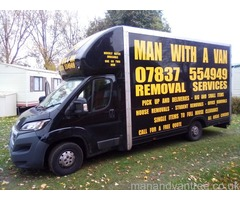 Colchester Man and van - One man with a van Colchester
