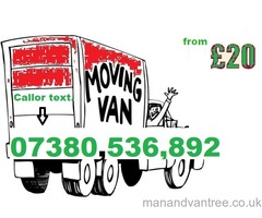 Man with a Van Birmingham removals AVAILABLE  in short notice