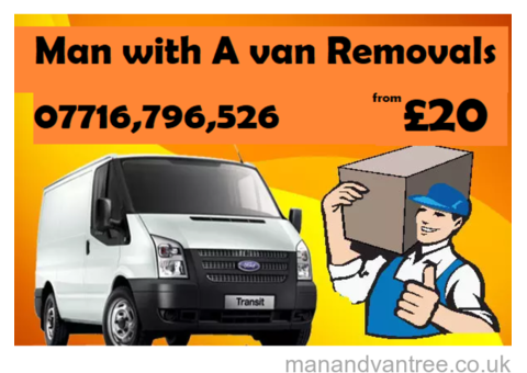 Man with a Van Wolverhampton removals AVAILABLE in short notes