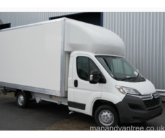 ESSEX HARD WORKING COURIERS MAN VAN DELIVERY
