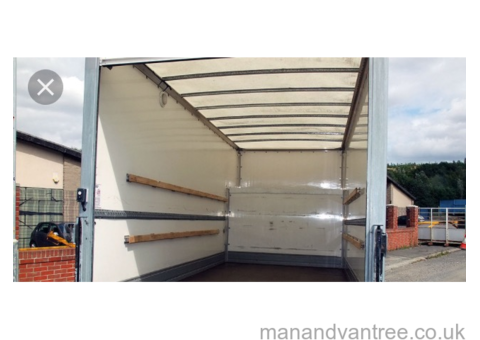 NOTTINGHAM INSURED LARGE VAN MOVERS ONE ITEM DELIVERY LOCAL EFFICIENT