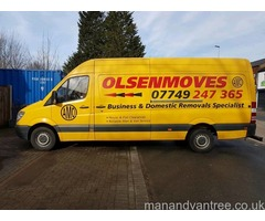 Man And Van Home Removal Service, Short Notice Welcome, Nationwide Removals.