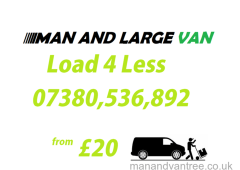 Man with a large van Willenhall Removals for hire from just £20