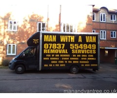 Harwich Man and van - One Man and a van in Harwich
