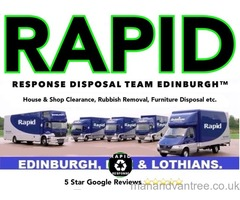 RAPID RESPONSE™HOUSE CLEARANCE,RUBBISH REMOVAL, MAN AND A VAN, JUNK UPLIFTS, DISPOSAL TEAM