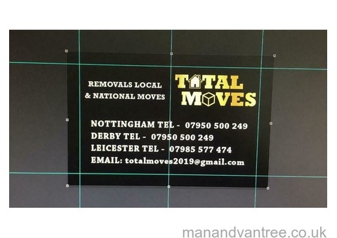 Total moves Bilborough Local national domestic and commercial moves