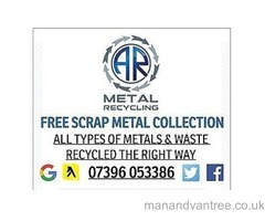 SCRAP METAL/WASTE CLEARANCE•FREE SCRAP METAL COLLECTION• RUBBISH REMOVAL•WE BUY NON-FERROUS METALS