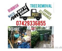 Waste, rubbish, clearance, Tree surgeon, green waste, wood, hardcore, scrap, white goods