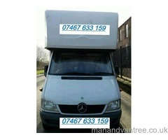 Hire Big Luton Tail-Lift Van with Man Removals, Deliveries, Haulage