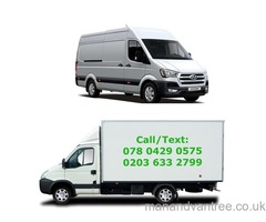 MAN AND VAN FROM £15/HR REMOVALS 24HRS London Clapham
