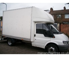 Man and van service Facilities for East, North London