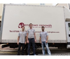 Brighton man and van. Removals Brighton - 100% service guaranteed