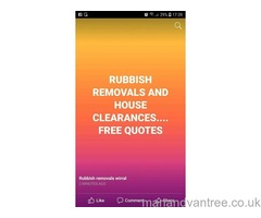 RUBBISH REMOVALS / HOUSE CLEARANCES WIRRAL, BIRKENHEAD, WALLASEY