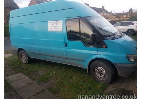 Man and van services waste disposal services Chester
