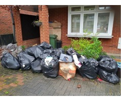 Same day rubbish removal from £25! One hour time slots !