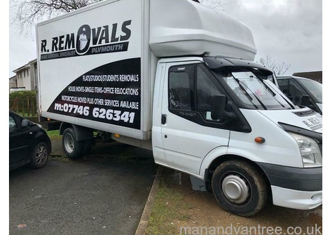 REMOVALS MAN AND VAN SERVICE PLYMOUTH