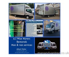 24/7 Removals/Man & Van/Rubbish Collection/Long Distance Specialists/Last Minute Moves