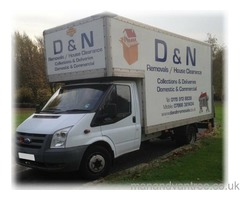 SHORT NOTICE HOUSE REMOVALS ** MAN WITH A VAN HIRE ** COLLECTION OR DELIVERY