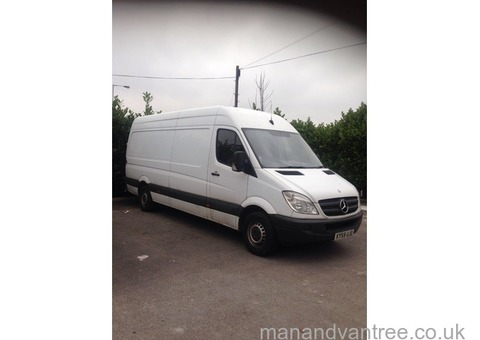 MAN & VAN HOUSE REMOVALS AVAILABLE 7 DAYS