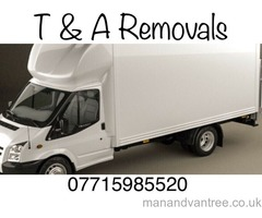 Man and van hire delivery and removal services cheap furniture 24/7 local Ashby de la zouch