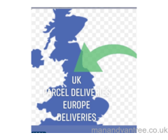 London -Europe movers -3.5 ton -7.5 ton Deliveries Man van House flat movers