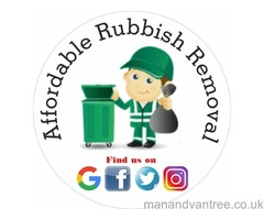 Affordable rubbish removal / waste clearance Bristol cheaper than skips and others