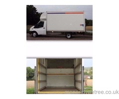 VAN MAN AND REMOVALS HOUSE REMOVALS 5* CUSTOMER RATED, FULLY INSURED, LARGE LUTON VAN, TWO MEN