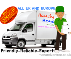 MAN & VAN HOUSE OFFICE ANY REMOVALS DELIVERY TRANSPORT MOVING DUMP WASTE