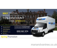 LOW COST MAN AND VAN SERVICE, FROM £15 P/H, COVERING ALL UK AND EUROPE 7 DAYS A WEEK