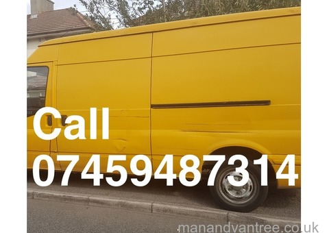 Man and van services Dagenham, Romford and London