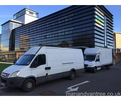 Man & Van Hire for House/Flat/Office Removals Movers & Cheap Single Item Deliveries