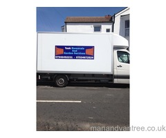 Task removals & Garden services, £25p/h Luton van with tail lift, 24/7