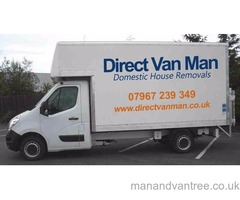 Man & Large Box Van Removals Movers Leicester
