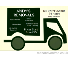RELIABLE FRIENDLY MAN & VAN PROFESSIONAL SERVICE COVERING THE WHOLE OF LONDON AND THE UK