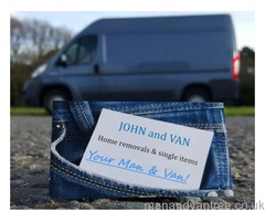 JOHN and VAN - Professional house removals in Harlow in Harlow