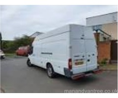 MAN & VAN services from 20 pounds NO STAIRS FEE, clean carpeted van