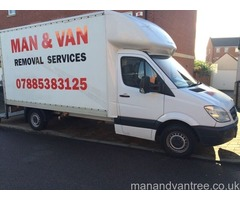 Man and van removal service 24/7 house, flat, office, single item Leicester