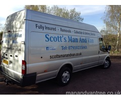 Scott's man and van based in Rotherham and covering Doncaster, Barnsley, Sheffield