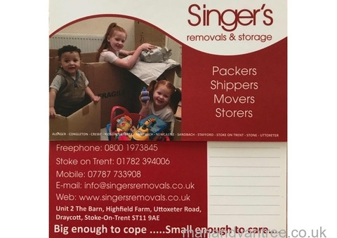 Removals, storage, pianos and man with a van available