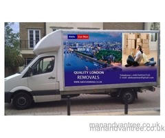 MAN & VAN HIRE STRATFORD LONDON