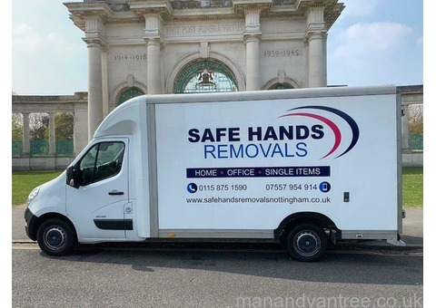 MAN AND VAN / HOUSE REMOVALS IN NOTTINGHAM