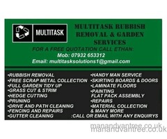RUBBISH REMOVAL NORTH EAST & FREE SCRAP METAL COLLECTION